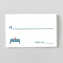 Visit Washington, D.C.---Letterpress Place Card