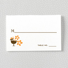 Visit Hawaii---Letterpress Place Card