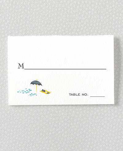 Visit Los Angeles Place Card