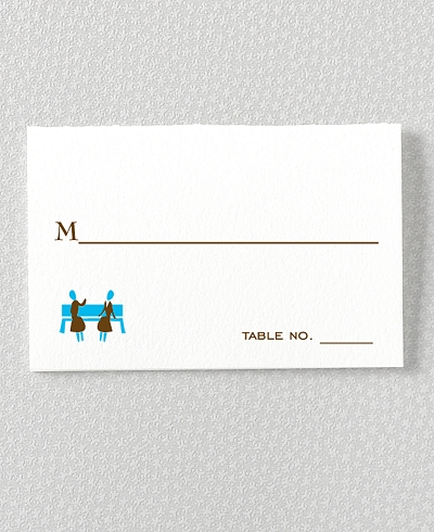 Visit New York Place Card