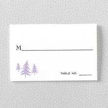 Visit Seattle---Letterpress Place Card