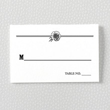 Wildwood: Letterpress Place Card