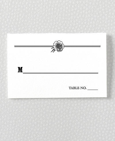 Wildwood Place Card