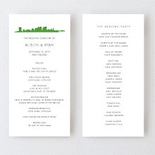 New Orleans Skyline - Program