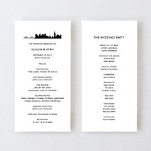 New York City Skyline---Program