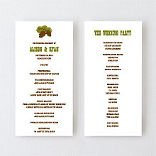 Tahoe - Letterpress Program