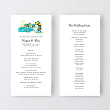 Visit Martha's Vineyard---Letterpress Program