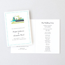 Visit Philadelphia - Letterpress Folded Program