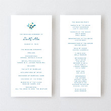 Secret Garden - Letterpress Program