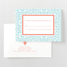 Architecture - Letterpress RSVP Card