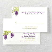 Bordeaux - RSVP Card