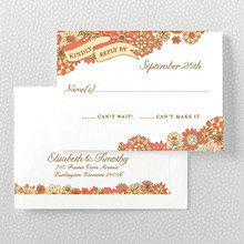 Evelyn - RSVP Card