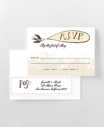 Bluegrass RSVP Card
