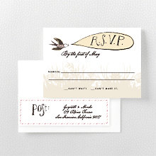 Bluegrass: RSVP Card