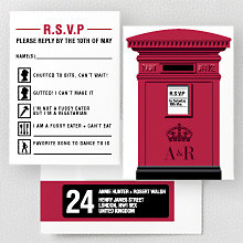 Love London - RSVP Card