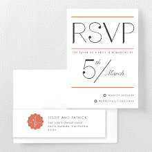 Pop Deco---RSVP Card