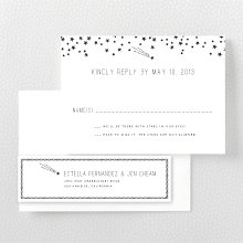 Shooting Star - RSVP Card