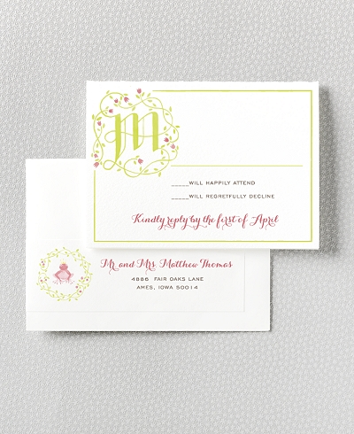 Happily Ever After RSVP Card