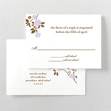 Honeysuckle: RSVP Card