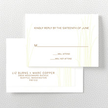 Meadow: Letterpress RSVP Card