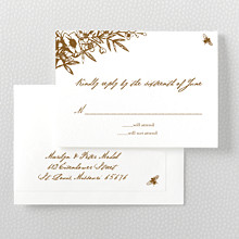 Naturalist: Letterpress RSVP Card