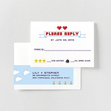 Pixel Perfect - RSVP Card
