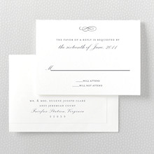 Ritz: Letterpress RSVP Card