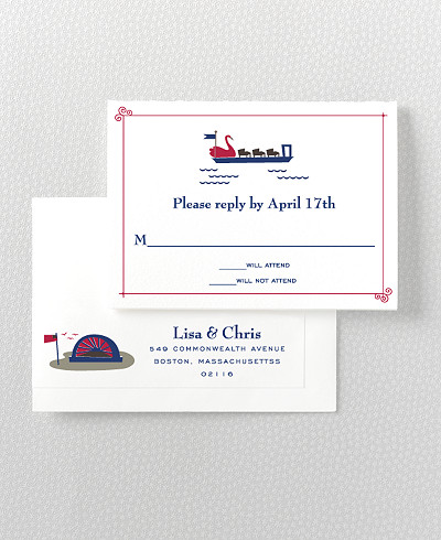 Visit Boston RSVP Card