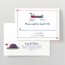 Visit Boston---RSVP Card