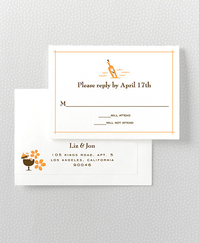 Visit Hawaii RSVP Card