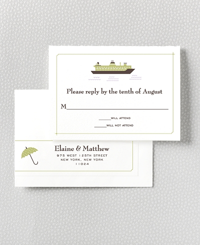 Visit Seattle RSVP Card