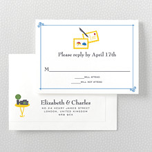 Visit the Riviera---RSVP Card