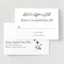 Wildflowers---RSVP Card