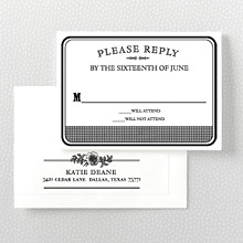 Wildwood: Letterpress RSVP Card