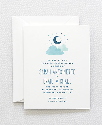 Adventure Rehearsal Dinner Invitation