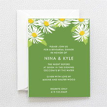 Daisy: Rehearsal Dinner Invitation