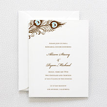 Antoinette: Rehearsal Dinner Invitation