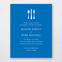 Austin Skyline - Rehearsal Dinner Invitation