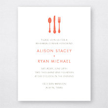 Austin Skyline---Rehearsal Dinner Invitation