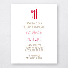 Big Day California: Letterpress Rehearsal Dinner Invitation