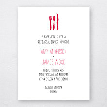 Big Day London: Letterpress Rehearsal Dinner Invitation