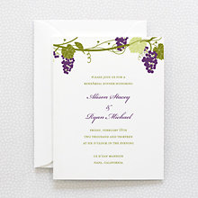 Bordeaux: Rehearsal Dinner Invitation