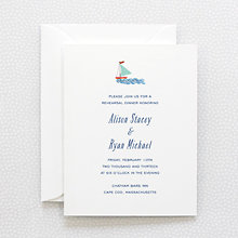 Cape Cod---Rehearsal Dinner Invitation