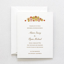Evelyn: Rehearsal Dinner Invitation