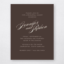 Symphony---Rehearsal Dinner Invitation