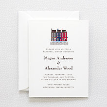 Visit Boston: Rehearsal Dinner Invitation