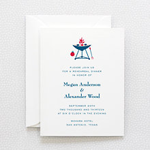 Visit Texas: Rehearsal Dinner Invitation
