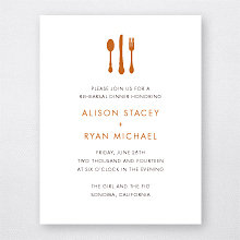 Wine Country Skyline - Rehearsal Dinner Invitation
