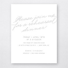 Atlantic: Foil/Letterpress Rehearsal Dinner Invitation