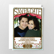 Cut Paper Photo Save the Date